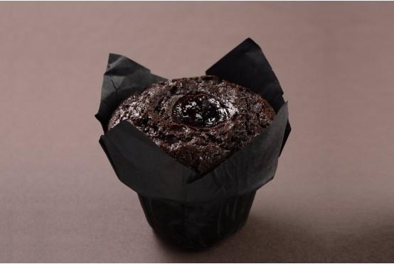 Müffin Kek Double Çikolatalı Vişneli 160 Gr