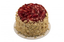 Prenses Çilek Bütün Pasta
