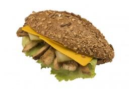 Ekşi Mayalı Baget Ekmeğinde Sebzeli Sandviç