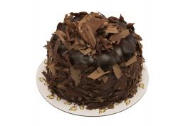 Çikolatalı Profiteröllü Bütün Pasta