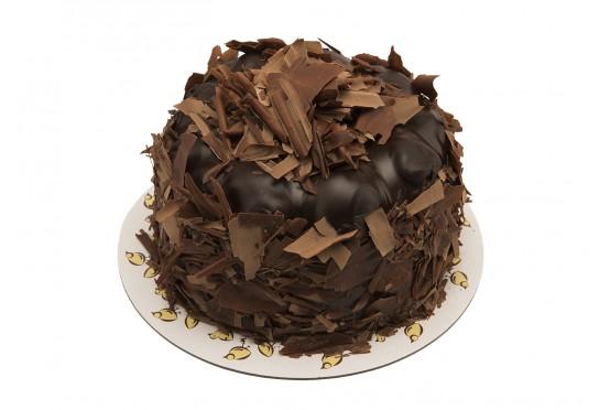 Çikolatalı Profiteröllü Bütün Pasta - Backhaus